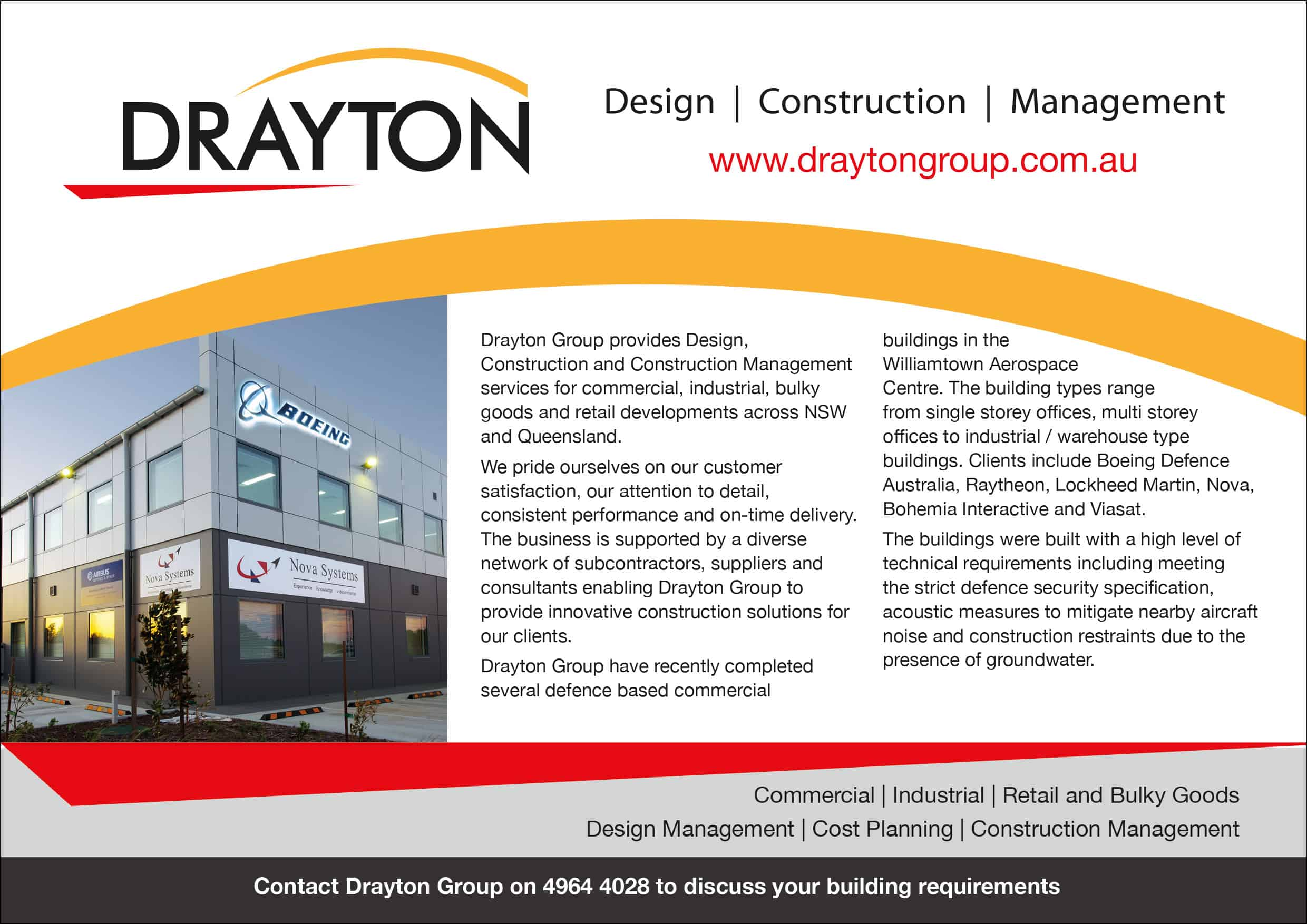 Drayton Group - Design, Construction, Management